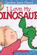 Scholastic I Love My Dinosaur
