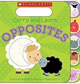 Scholastic Carry And Learn Opposites