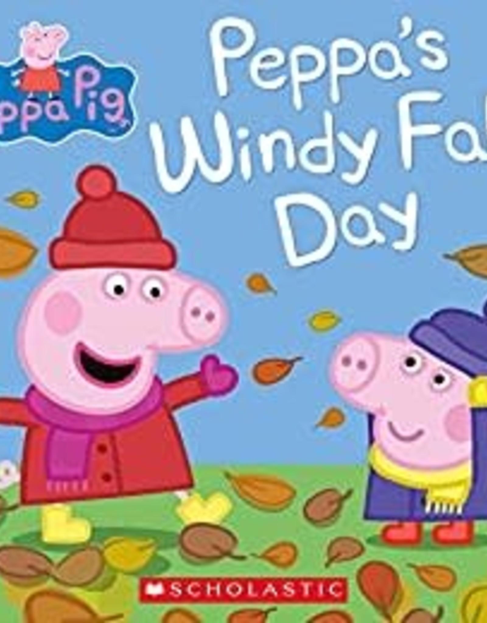 Scholastic Peppa Pig Peppa's Windy Fall Day