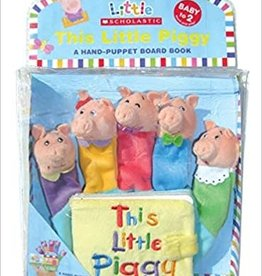Scholastic This Little Piggy A Hand-Puppet Board Book