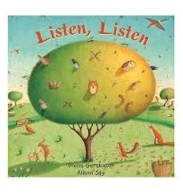 Barefoot Books Listen, Listen (Large Board Book)