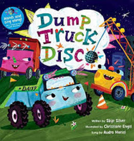 Barefoot Books Dump Truck Disco (Hardcover Book & CD)