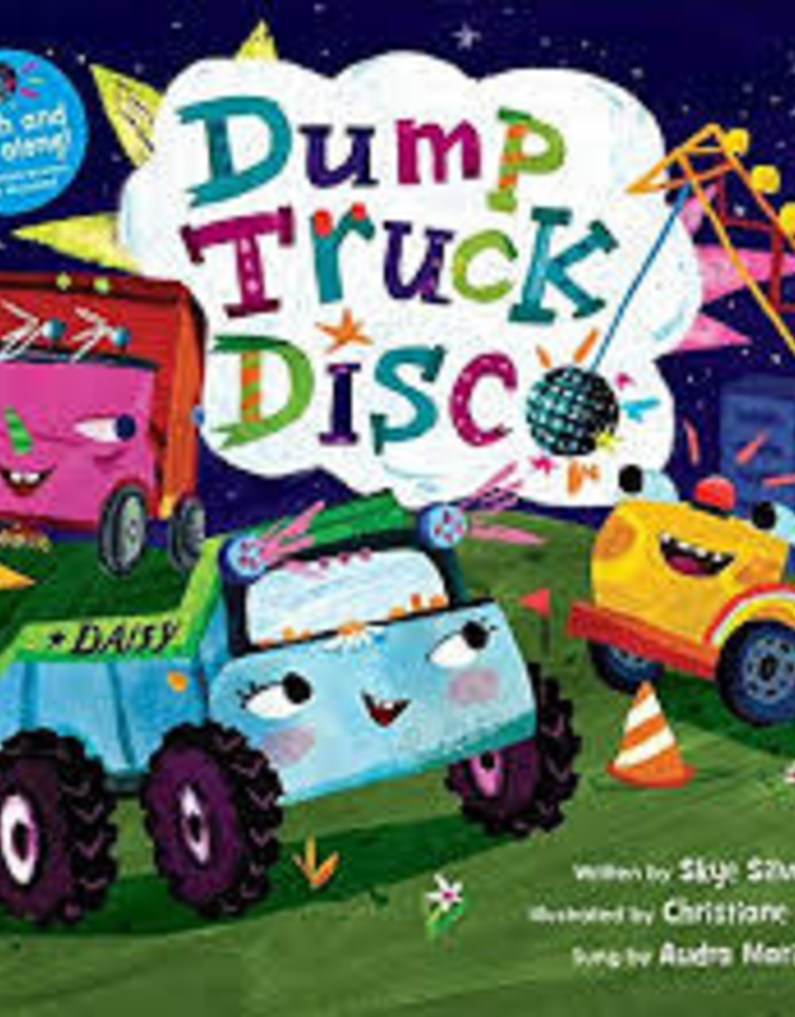 Barefoot Books Dump Truck Disco (Hardcover Book & CD)