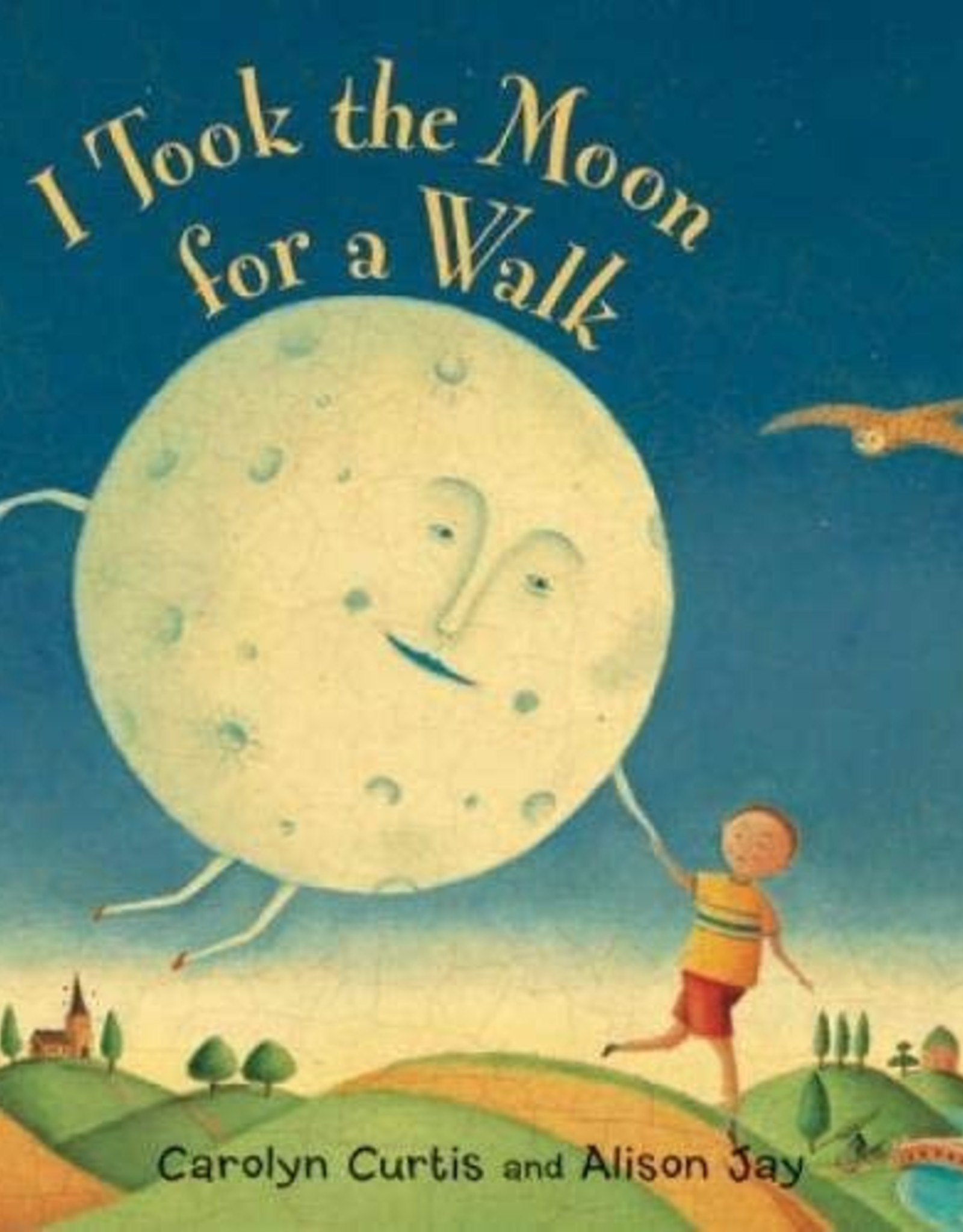 Barefoot Books I Took the Moon for a Walk (Large Board Book)