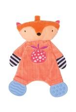 Manhattan Toy Teether Fox Snuggle Blankie