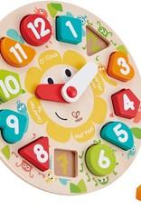 Hape Toys Hape Chunky Clock Puzzle
