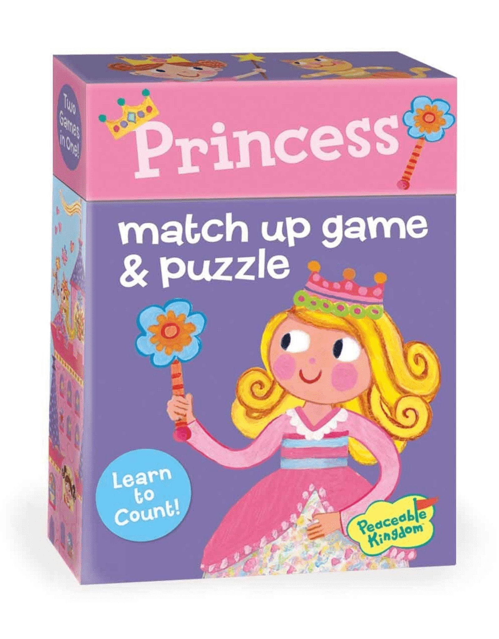 Peaceable Kingdom Princess Match Up Game