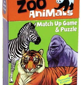 Peaceable Kingdom Zoo Animals Match Up Game