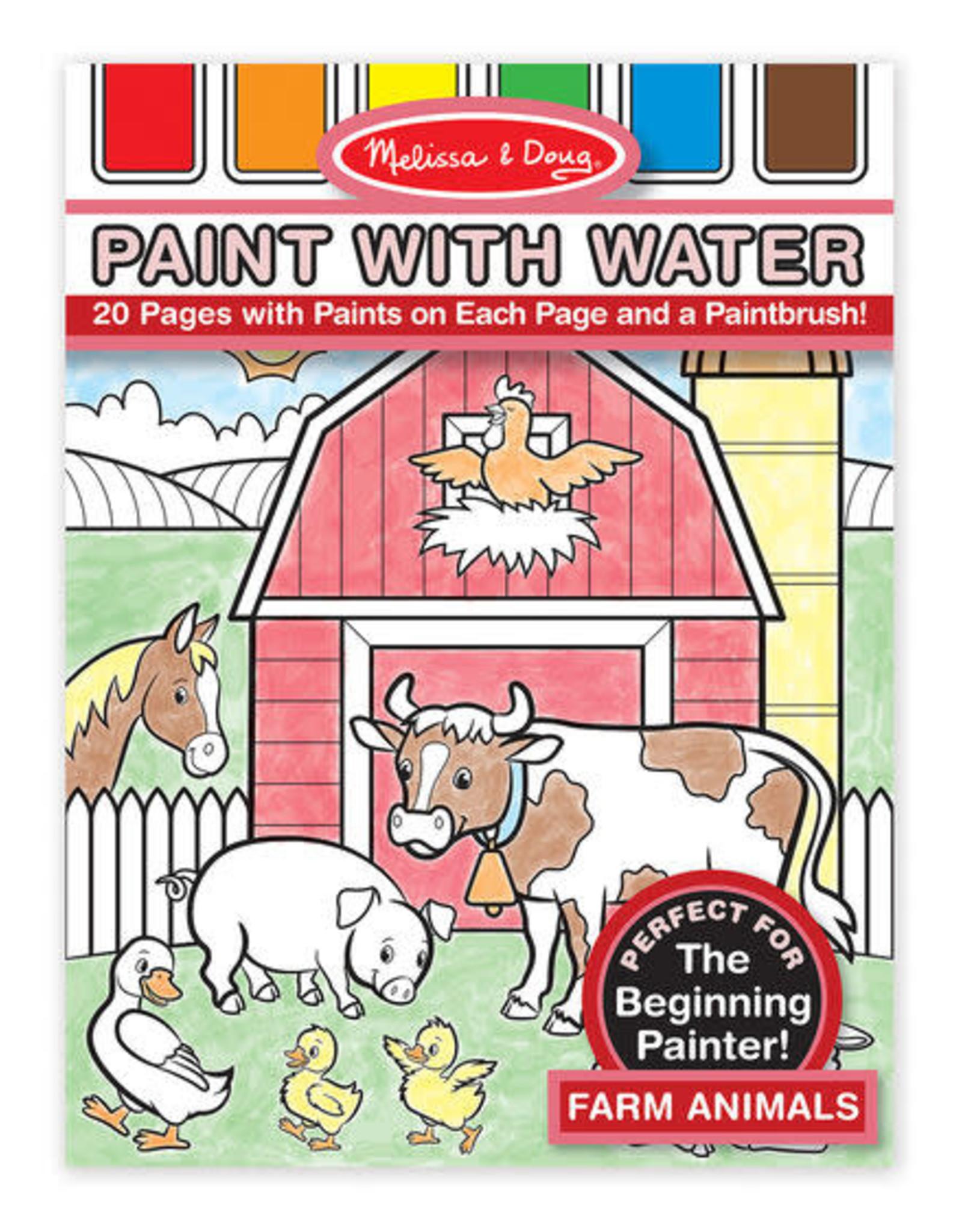 Melissa & Doug Melissa & Doug Paint With Water - Farm Animals