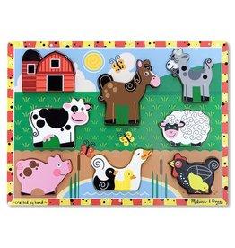 Melissa & Doug Melissa & Doug Farm Chunky Puzzle