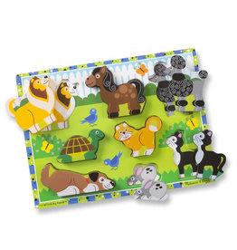 Melissa & Doug Melissa & Doug Pets Chunky Puzzle