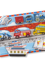 Melissa & Doug Melissa & Doug Vehicles Chunky Puzzle