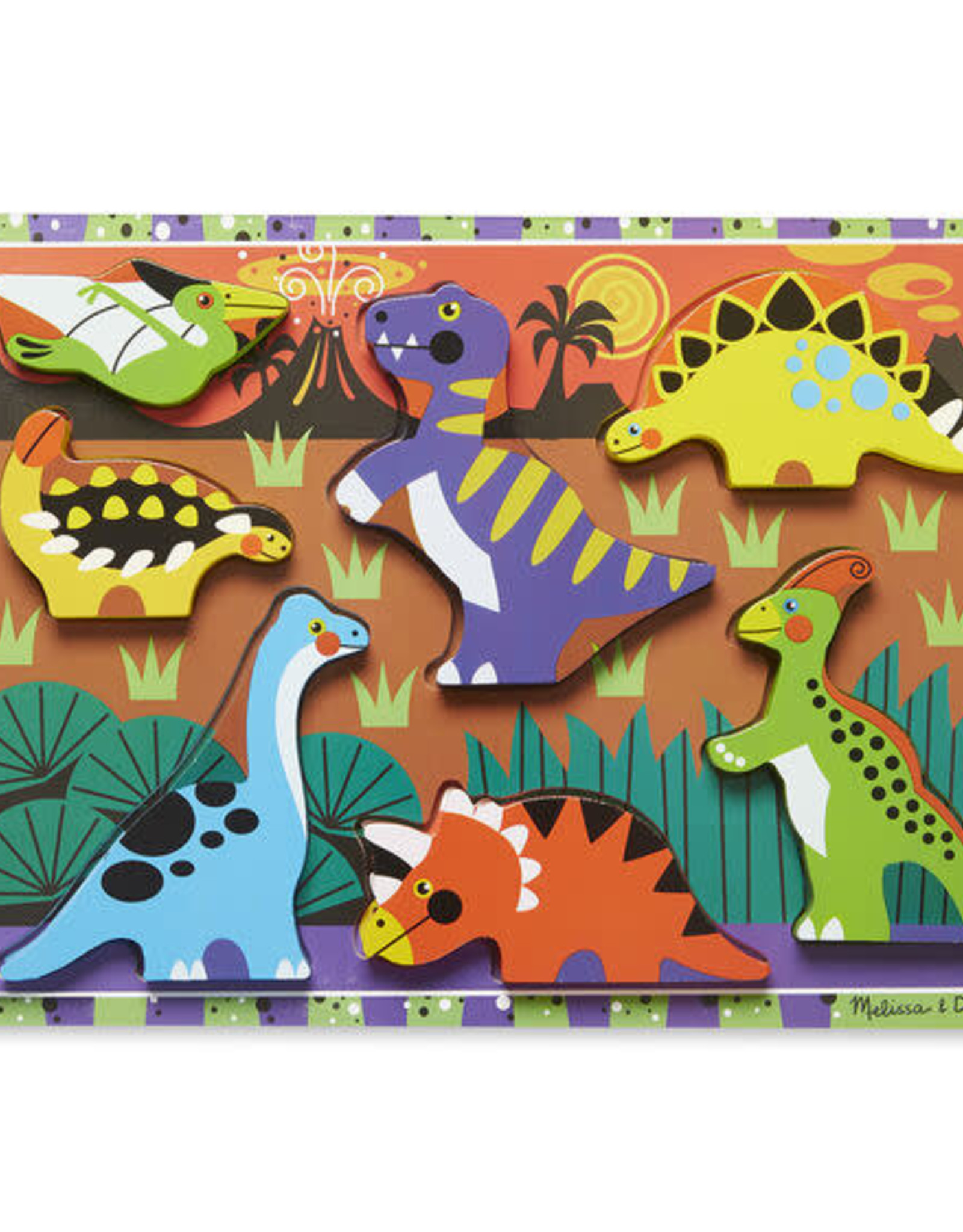 Melissa & Doug Melissa & Doug Dinosaurs Chunky Puzzle