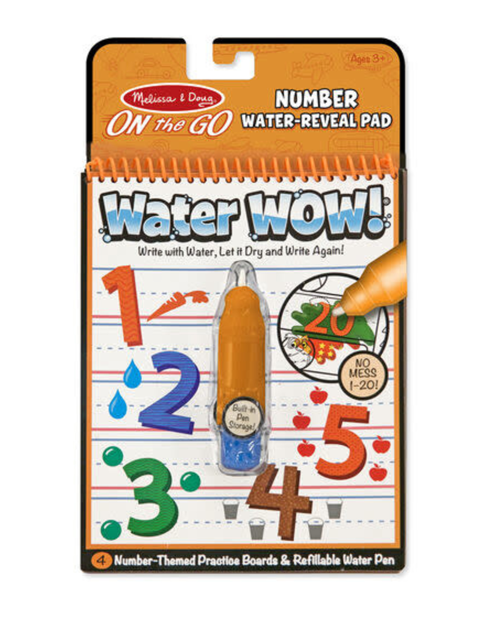 Melissa & Doug Melissa & Doug Water Wow! - Numbers