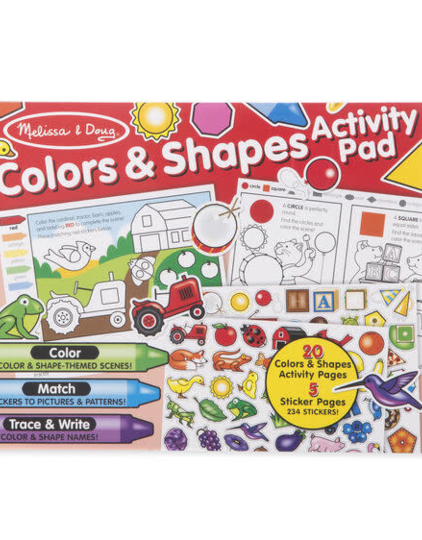 Melissa & Doug Melissa & Doug Colors & Shapes Activity Pad