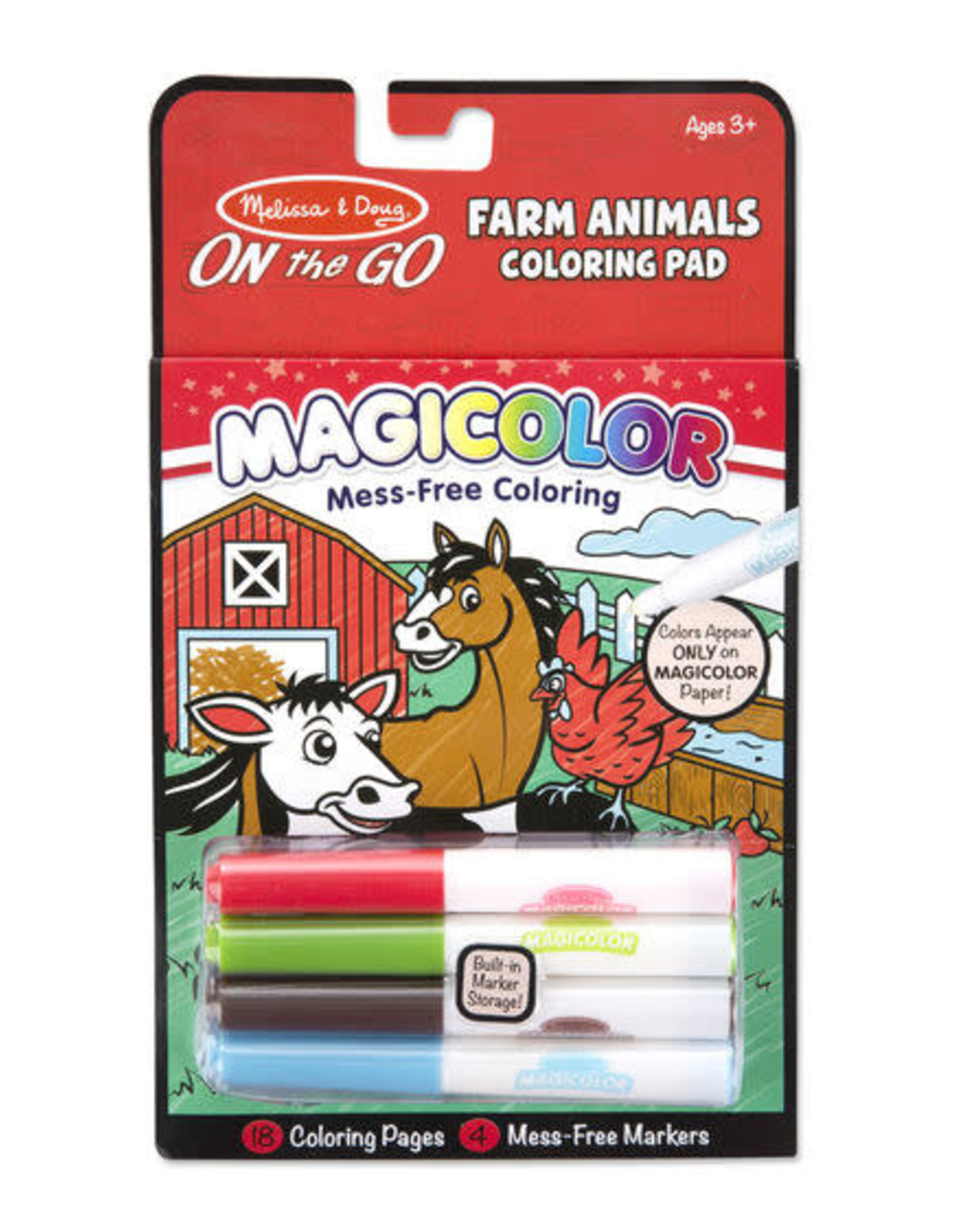 Melissa & Doug Melissa & Doug Magicolor Coloring Pad - Farm Animals