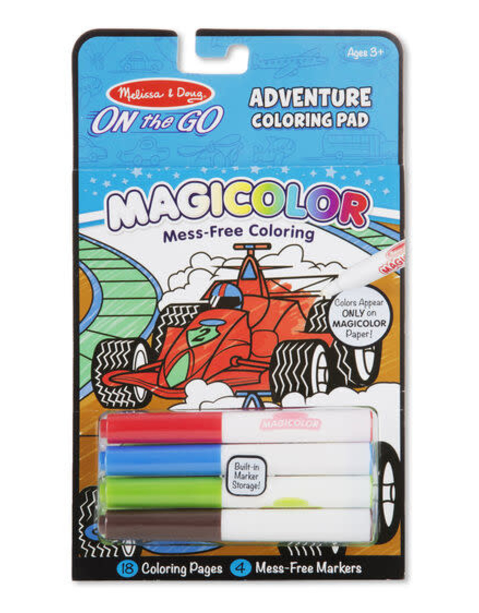 Melissa & Doug Melissa & Doug Magicolor Coloring Pad - Games & Adventure