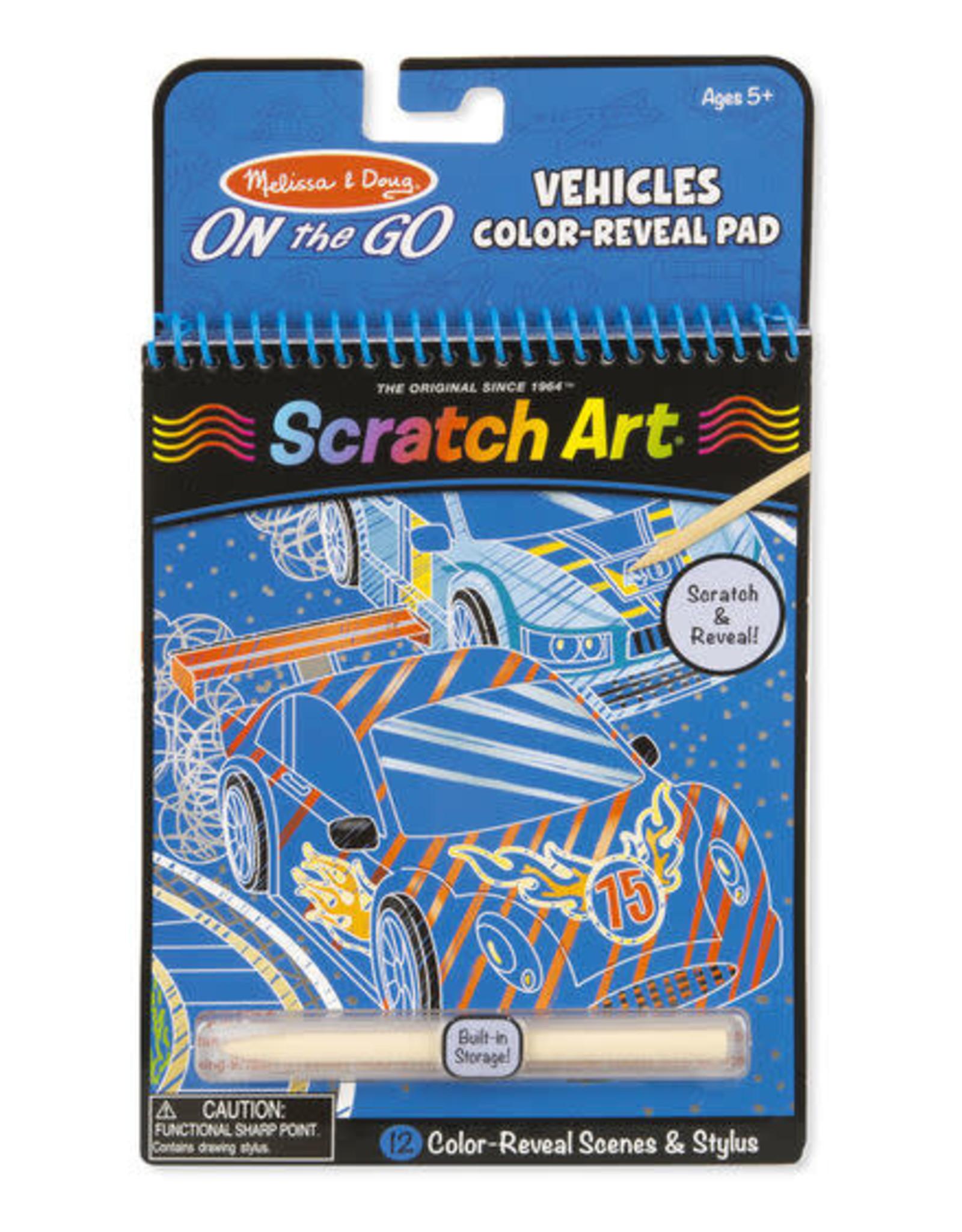 Melissa & Doug Melissa & Doug Vehicles Color Reveal Pad