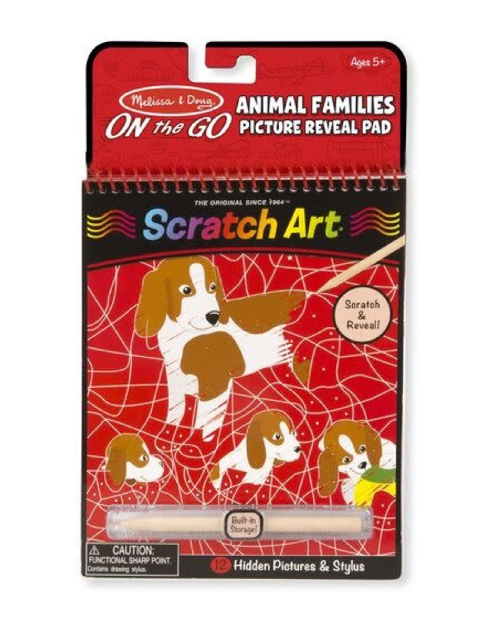 Melissa & Doug Melissa & Doug Animal Families Hidden Picture Pad