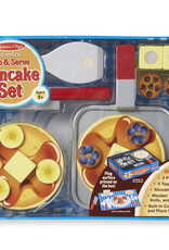 Melissa & Doug Melissa & Doug Wooden Flip & Serve Pancake Set
