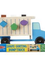 Melissa & Doug Shape Sorting Dump Truck