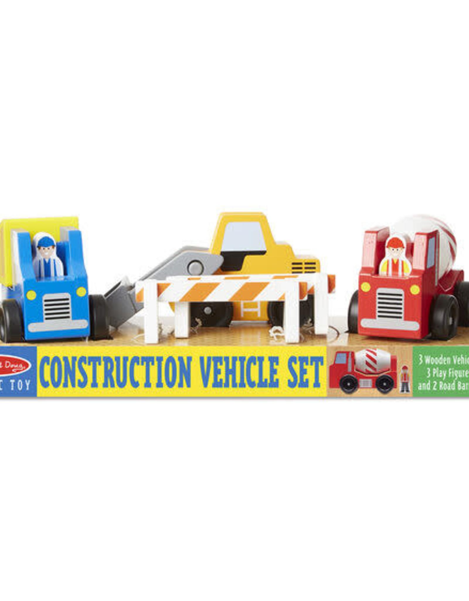 Melissa & Doug Melissa & Doug Wooden Construction Vehicle Set