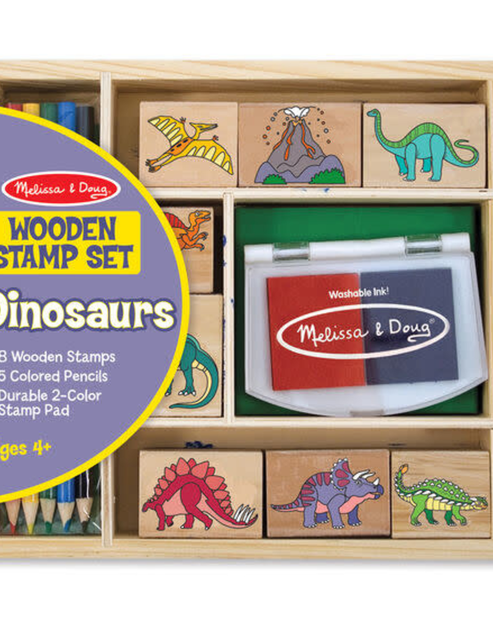 Melissa & Doug Melissa & Doug Dinosaur Stamp Set