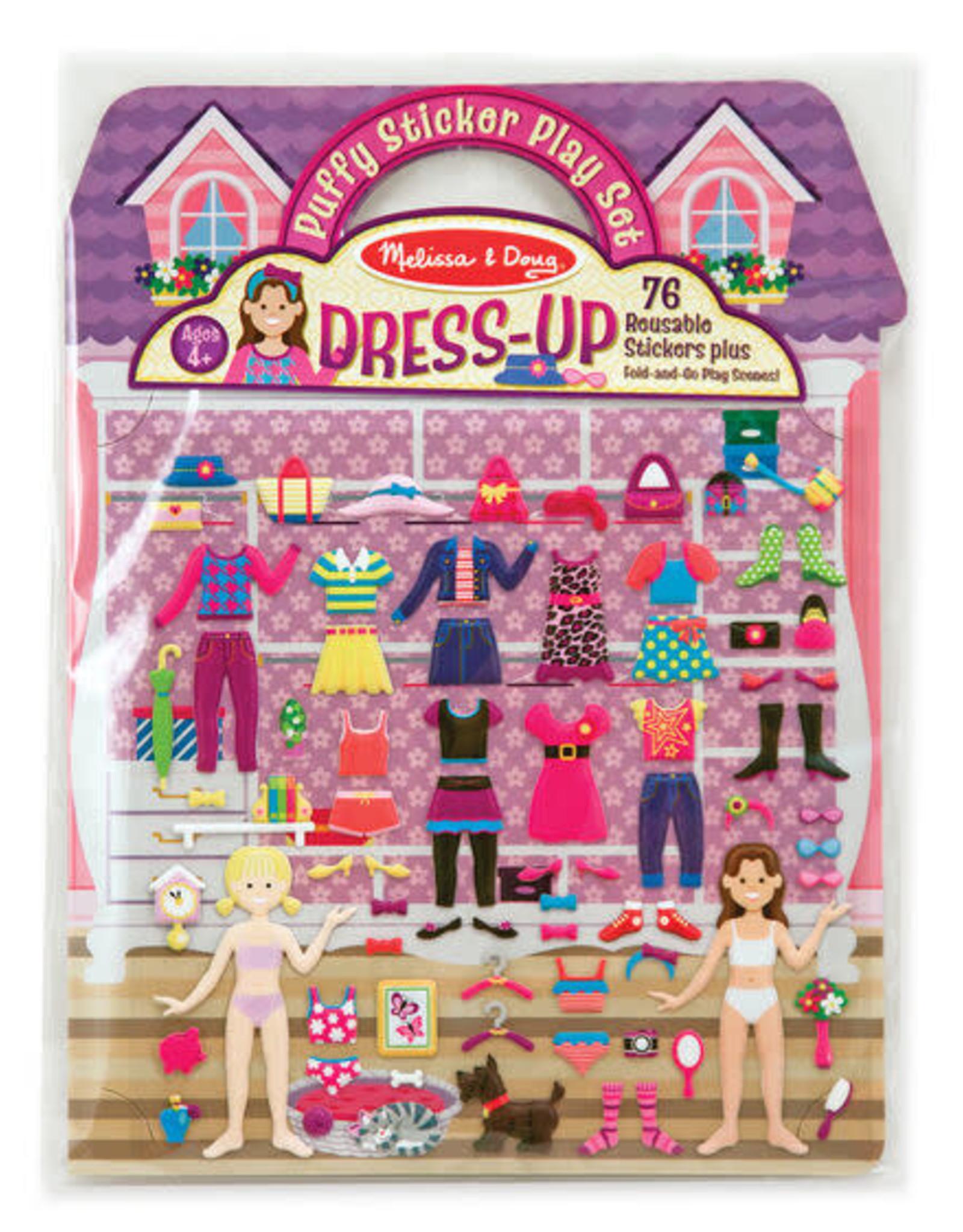 Melissa & Doug Melissa & Doug Reusable Puffy Stickers - Dress-Up