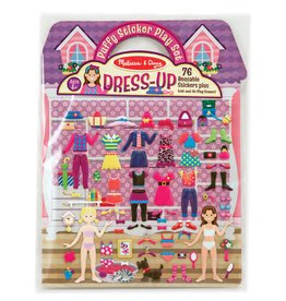 Melissa & Doug Melissa & Doug Reusable Puffy Stickers - Dress-Up