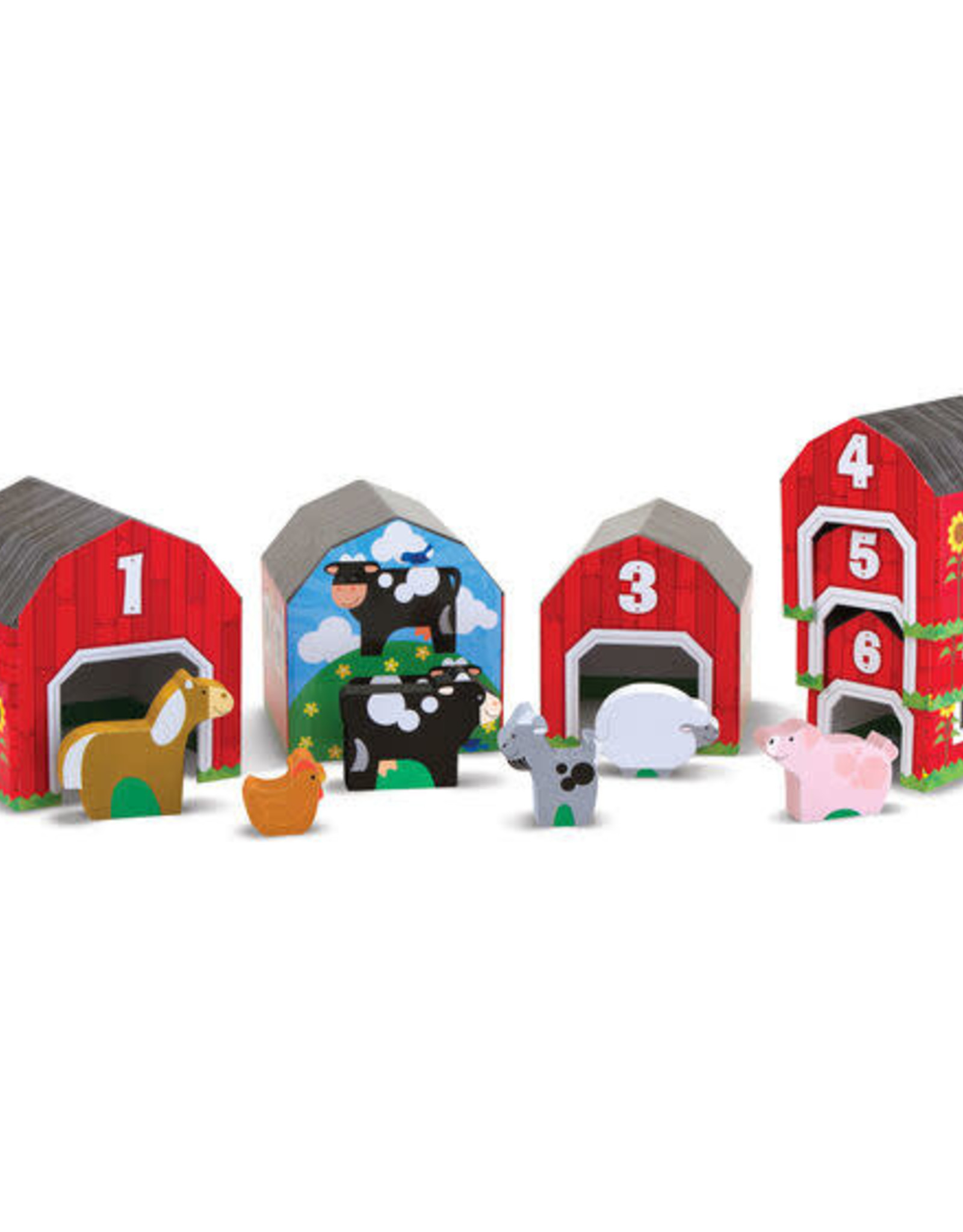 Melissa & Doug Melissa & Doug Nesting & Sorting Barns & Animals