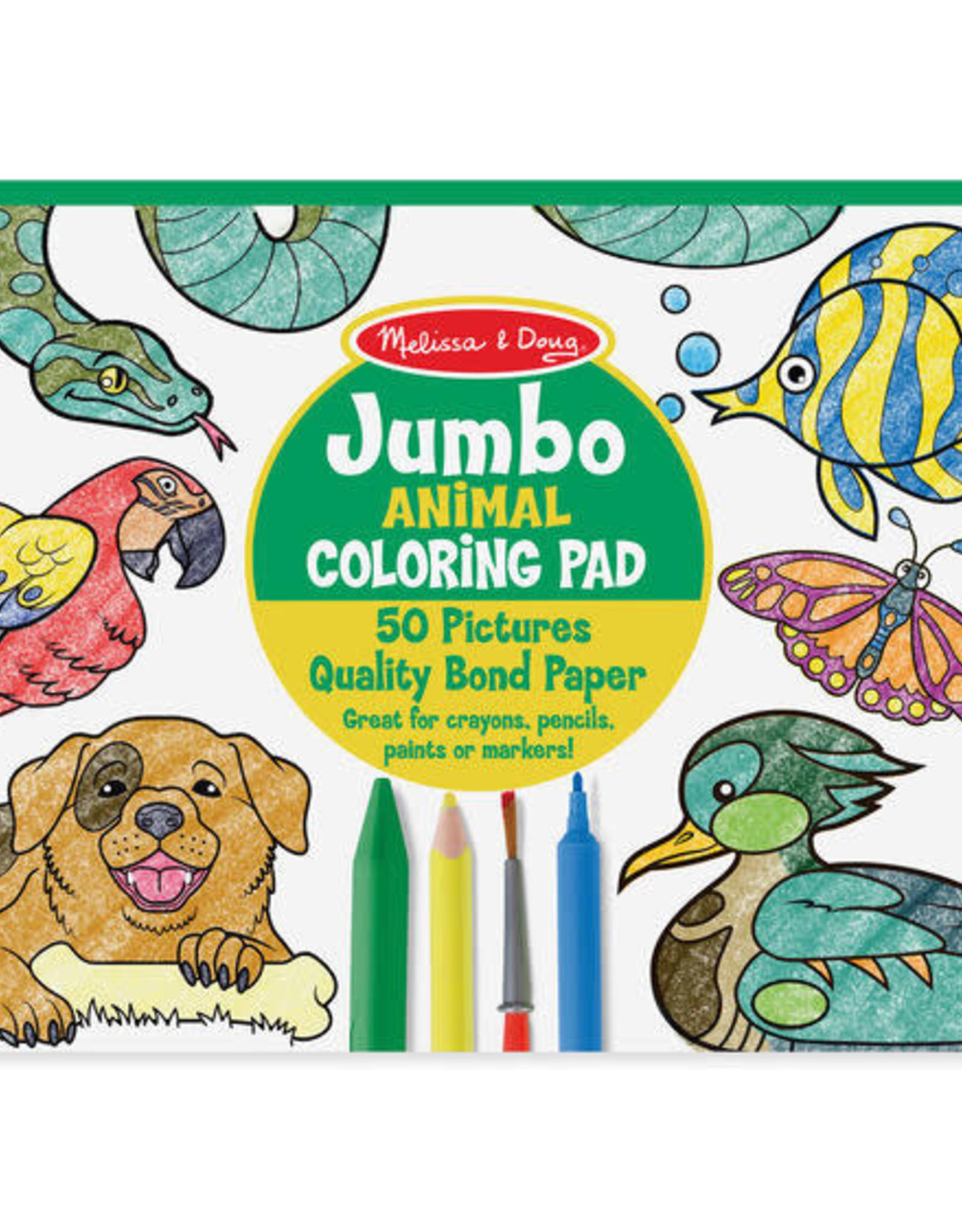 Melissa & Doug Melissa & Doug Jumbo Colouring Pad - Animals