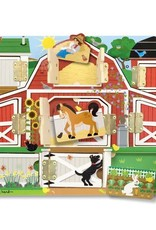 Melissa & Doug Melissa & Doug Magnetic Farm Hide & Seek Board