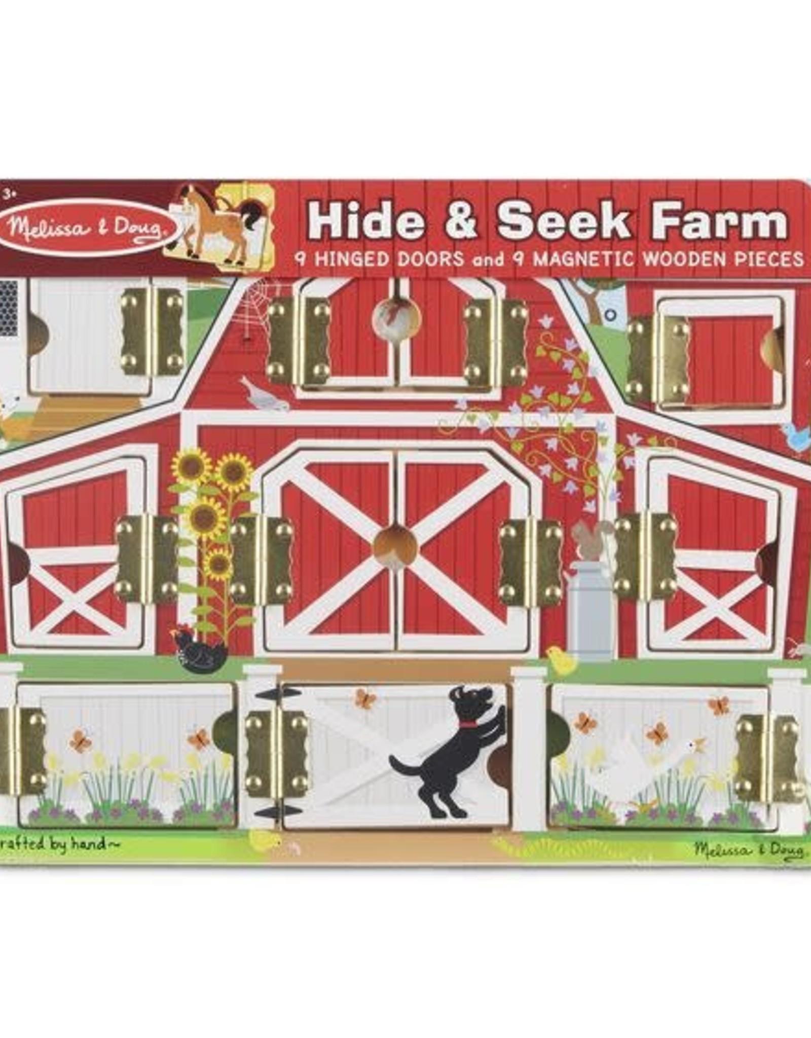 Melissa & Doug Melissa & Doug Magnetic Farm Hide & Seek Board