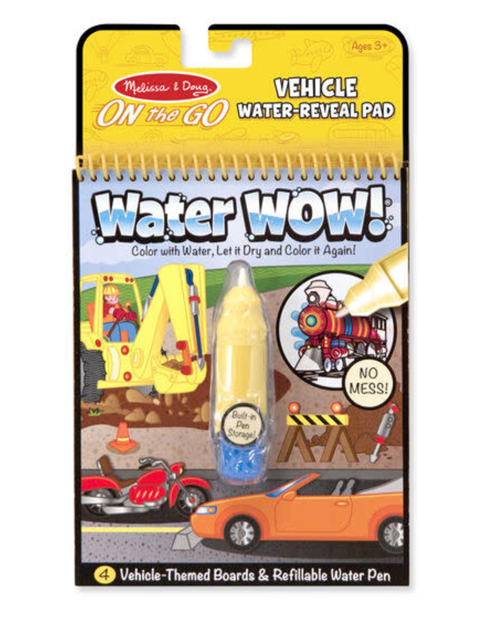 Melissa & Doug Melissa & Doug Water Wow! - Vehicles