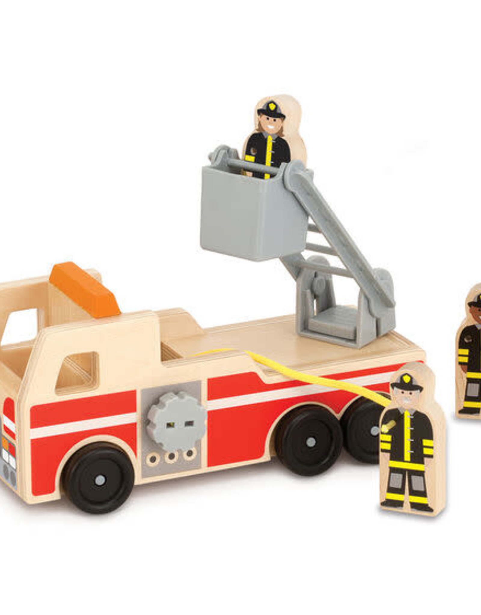 Melissa & Doug Melissa & Doug Wooden Fire Truck Play Set