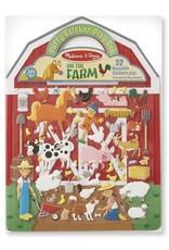 Melissa & Doug Melissa & Doug Reusable Puffy Stickers - Farm