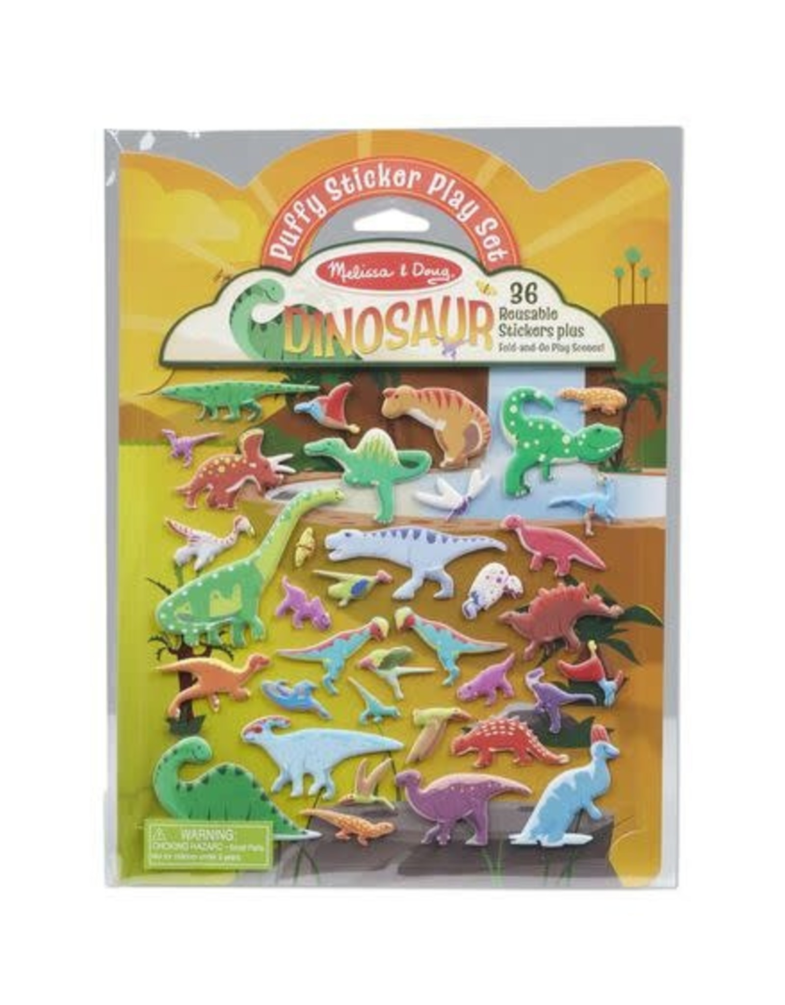 Melissa & Doug Melissa & Doug Puffy Sticker Play Set - Dinosaur