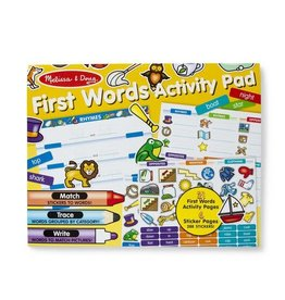 Melissa & Doug Melissa & Doug First Words Activity Pad