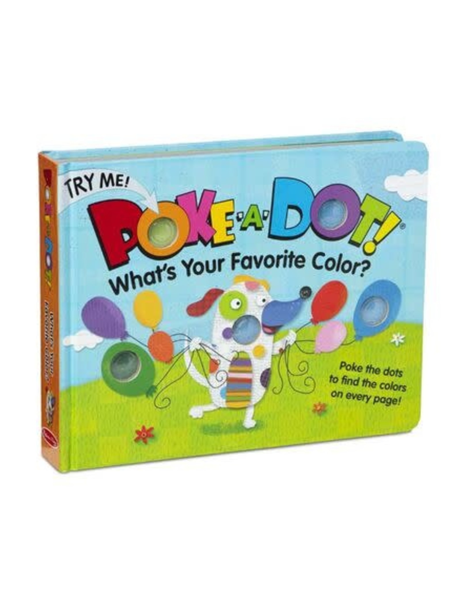 Melissa & Doug Melissa & Doug Poke-A-Dot - Favourite Colour