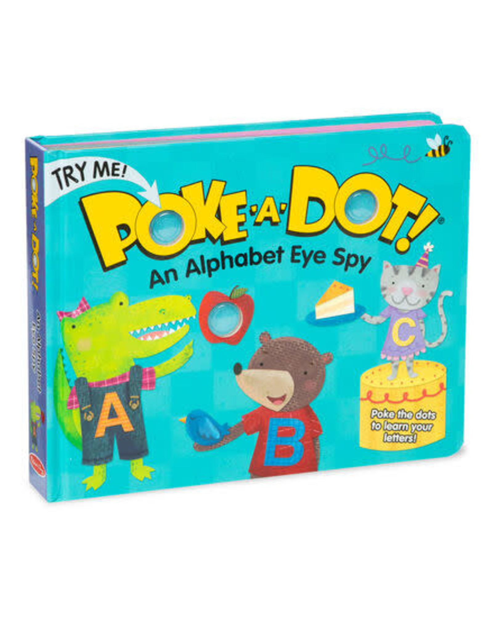 Melissa & Doug Melissa & Doug Poke-A-Dot - Alphabet Eye Spy