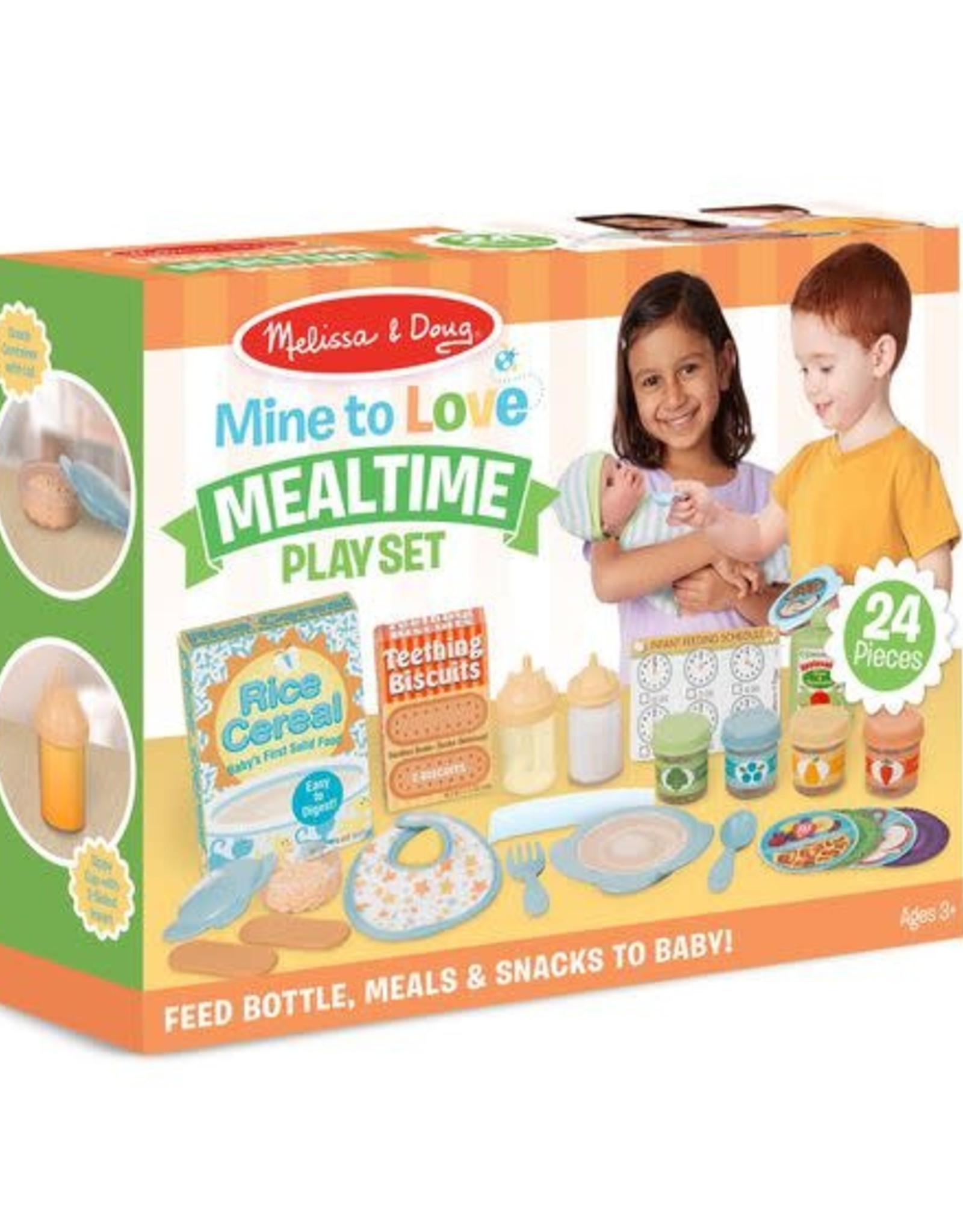 Melissa & Doug Melissa & Doug Mine to Love Mealtime Play Set