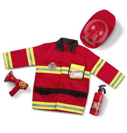 Melissa & Doug Melissa & Doug Fire Chief Role Play Costume