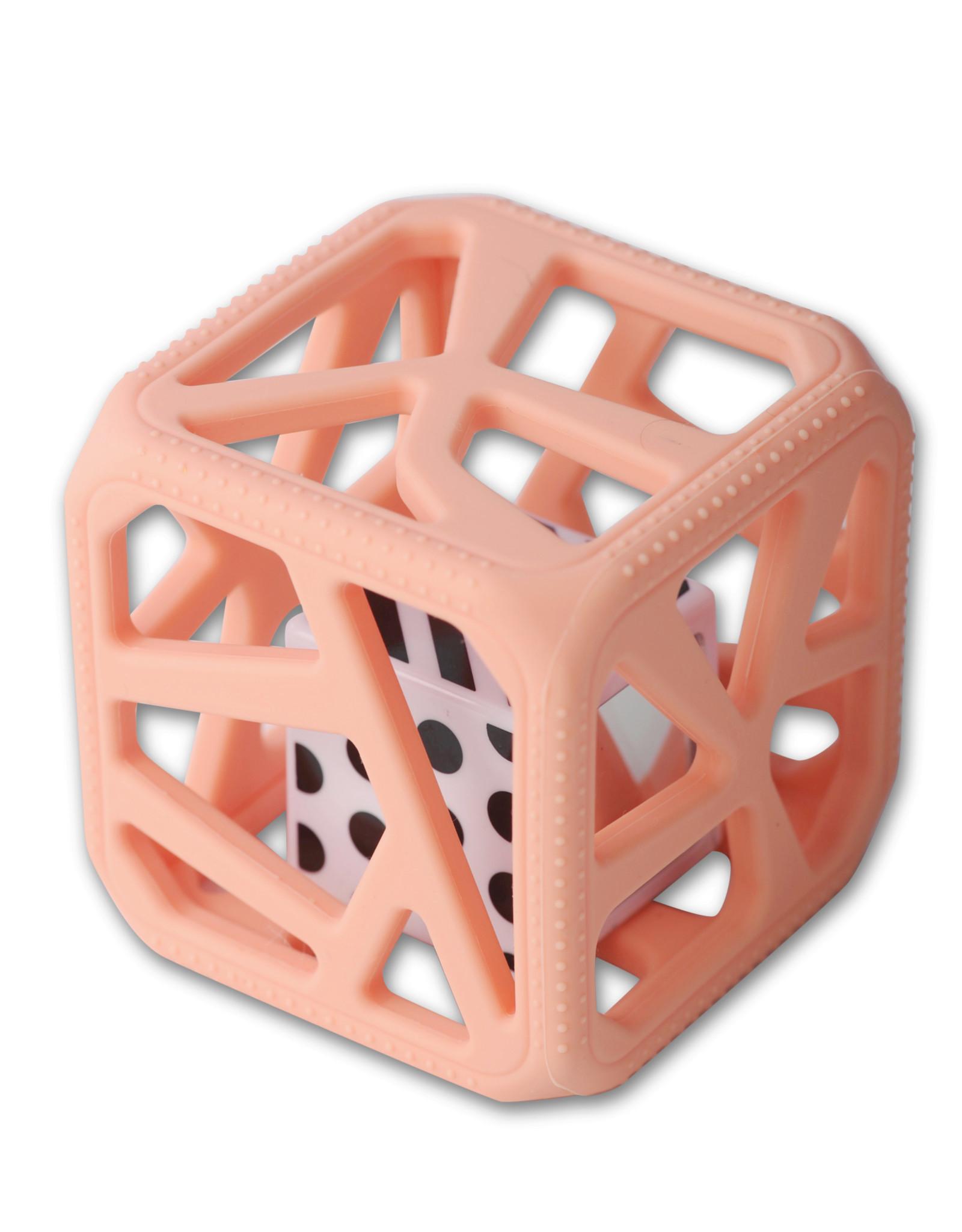Malarkey Kids Malarkey Kids Chew Cube - Peachy Pink