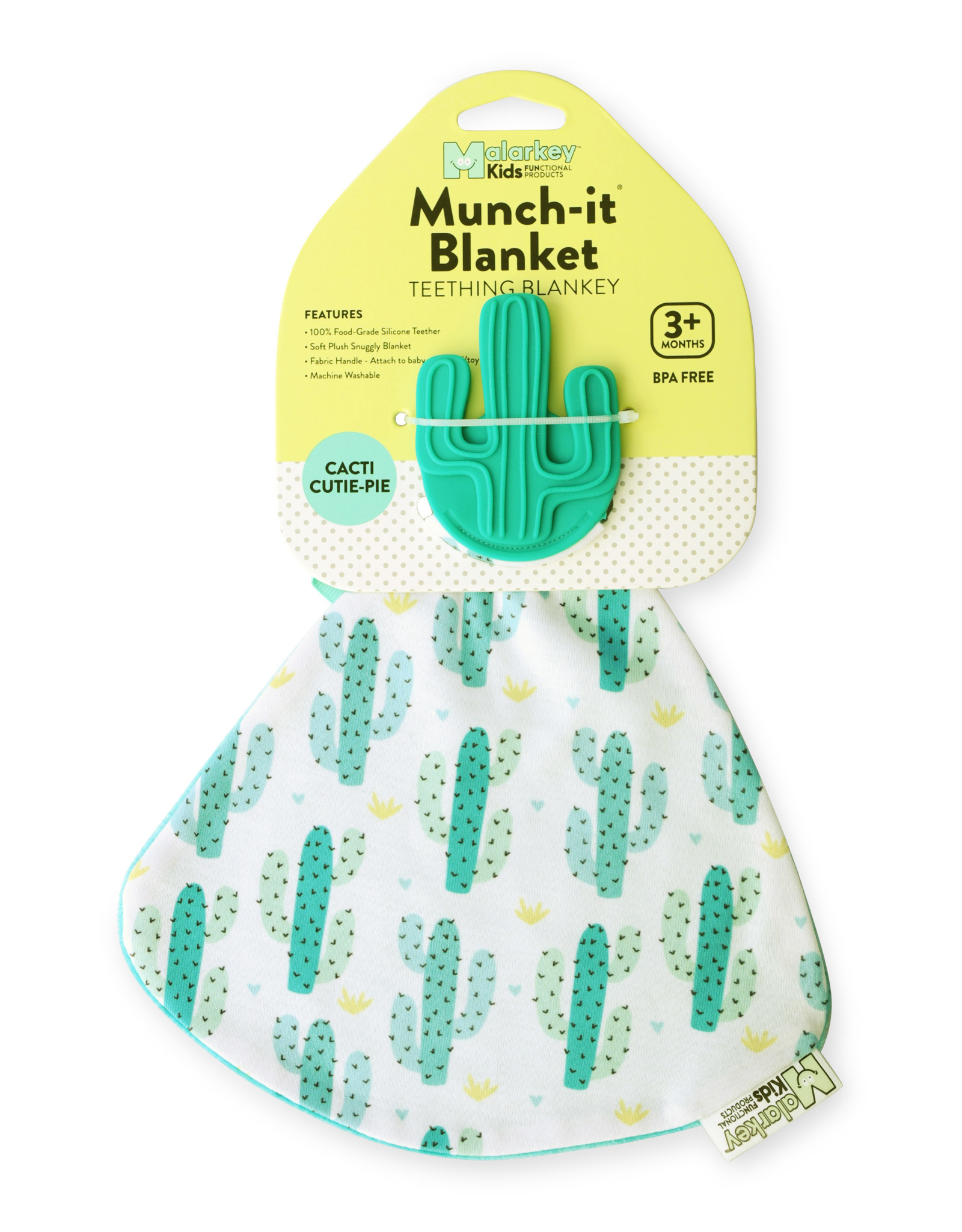 Malarkey Kids Malarkey Kids Munch-It Blanket - Cacti Cutie Pie