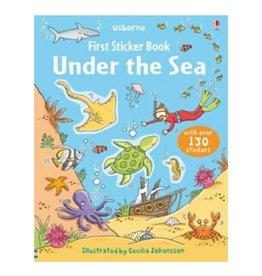 Usborne Usborne First Sticker Book Under the Sea