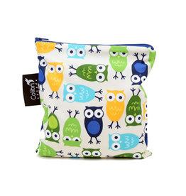 Colibri Canada Colibri Large Snack Bag - Owls
