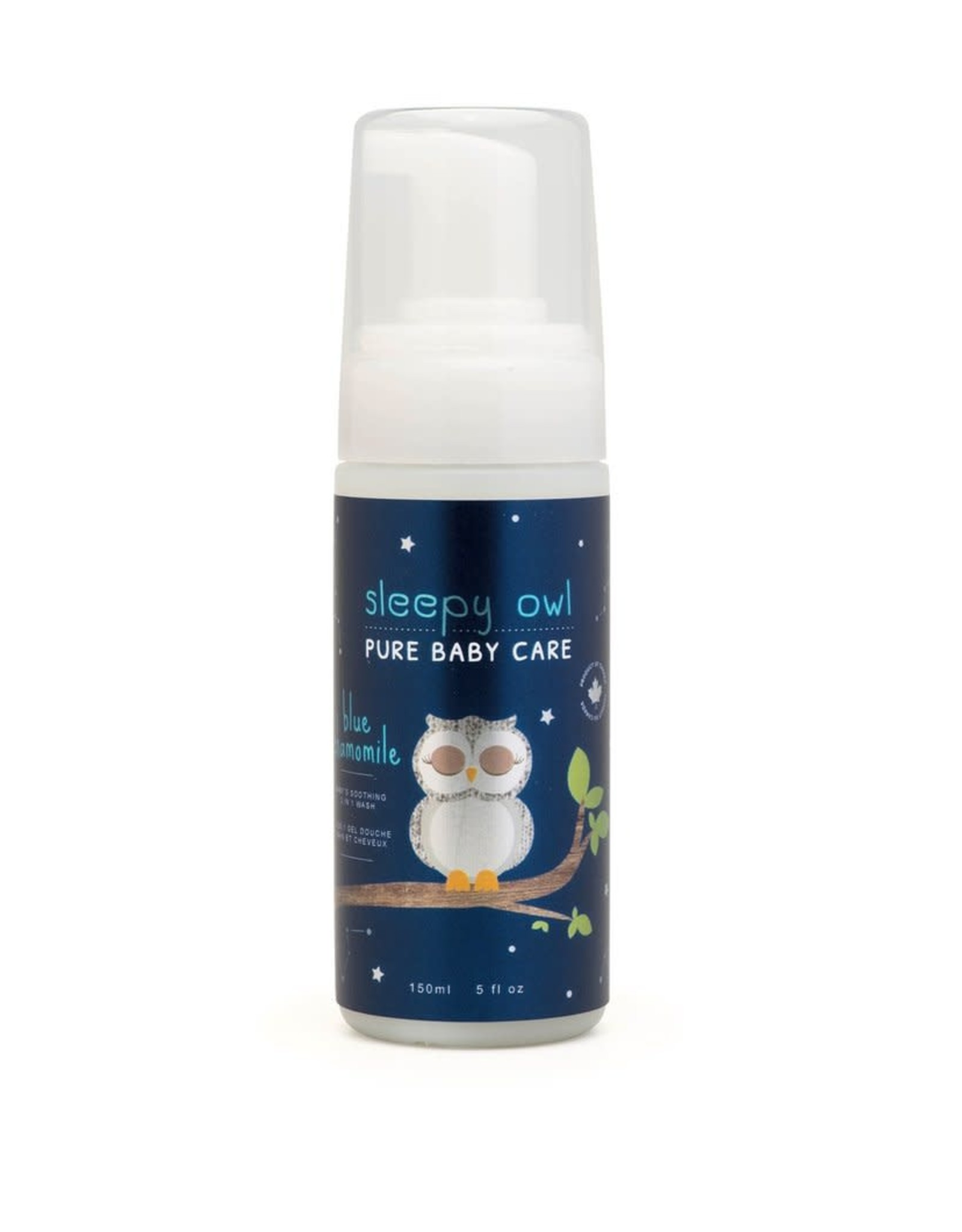Maison Apothecare Sleepy Owl Blue Chamomile 2 in 1 Baby Wash