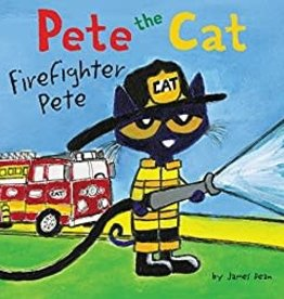 HarperCollins Pete the Cat - Firefighter Pete