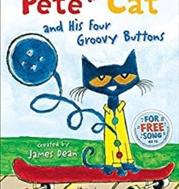HarperCollins Pete the Cat and his Four Groovy Buttons