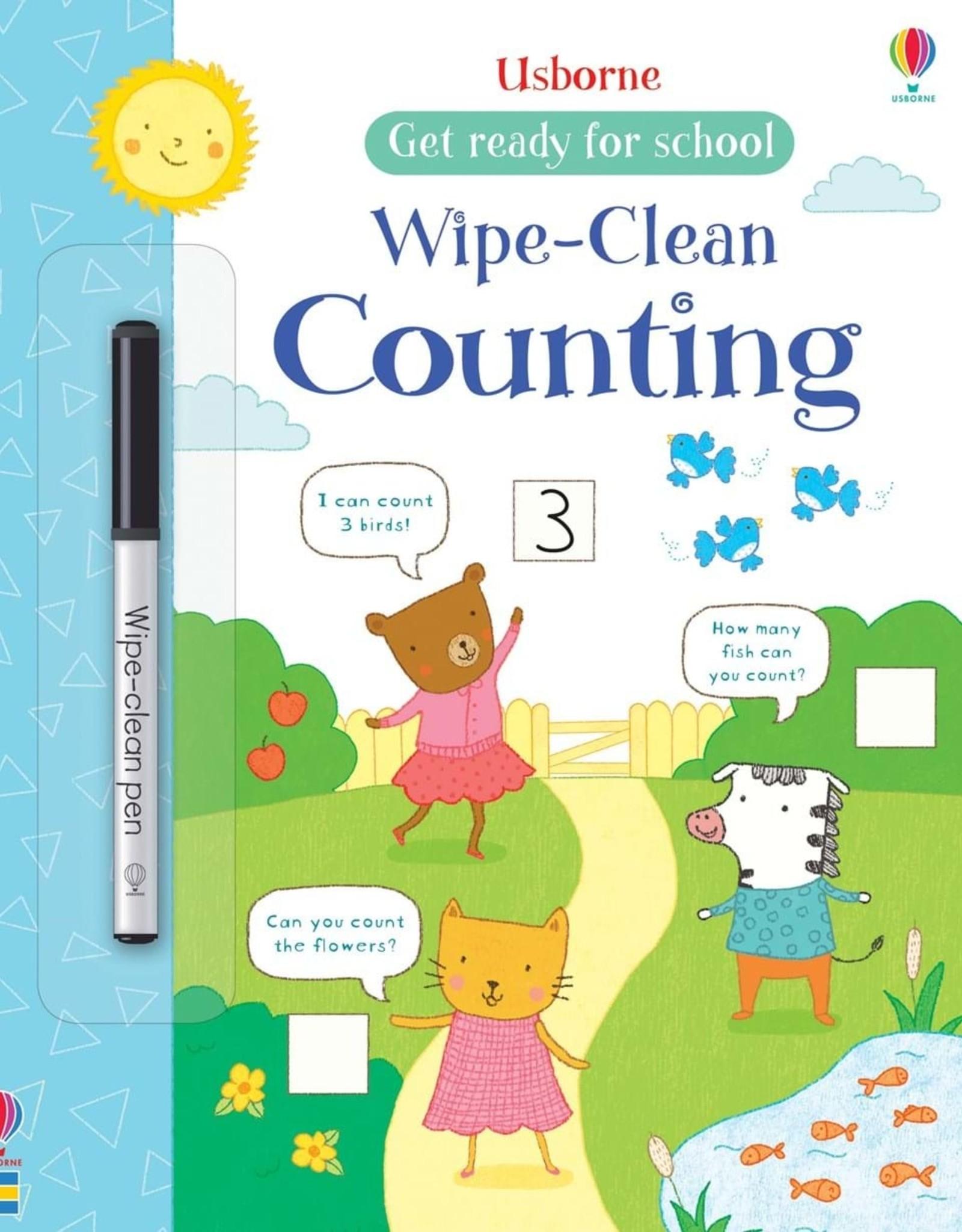 Usborne Usborne Wipe-Clean Counting